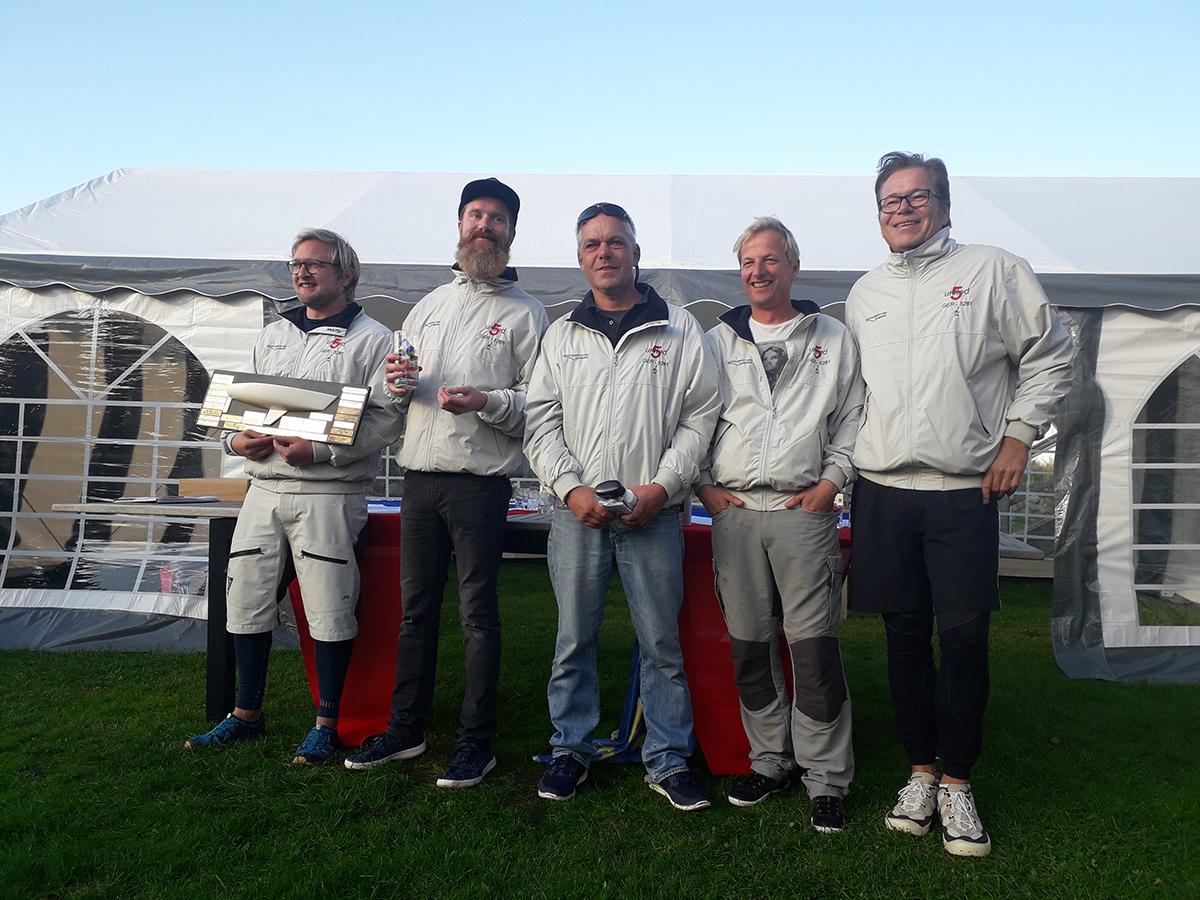 Jan Kähler und Crew gewinnen die German Open der J/24